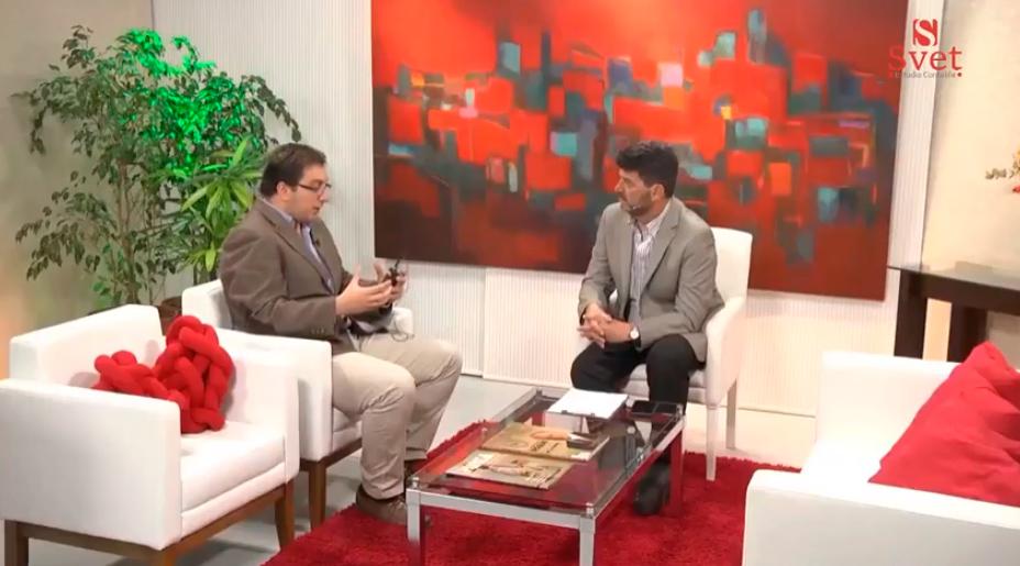 Canal 11 de Punta del Este realizó extensa entrevista al Cr Alexei Yaquimenko por el Día de las Pymes