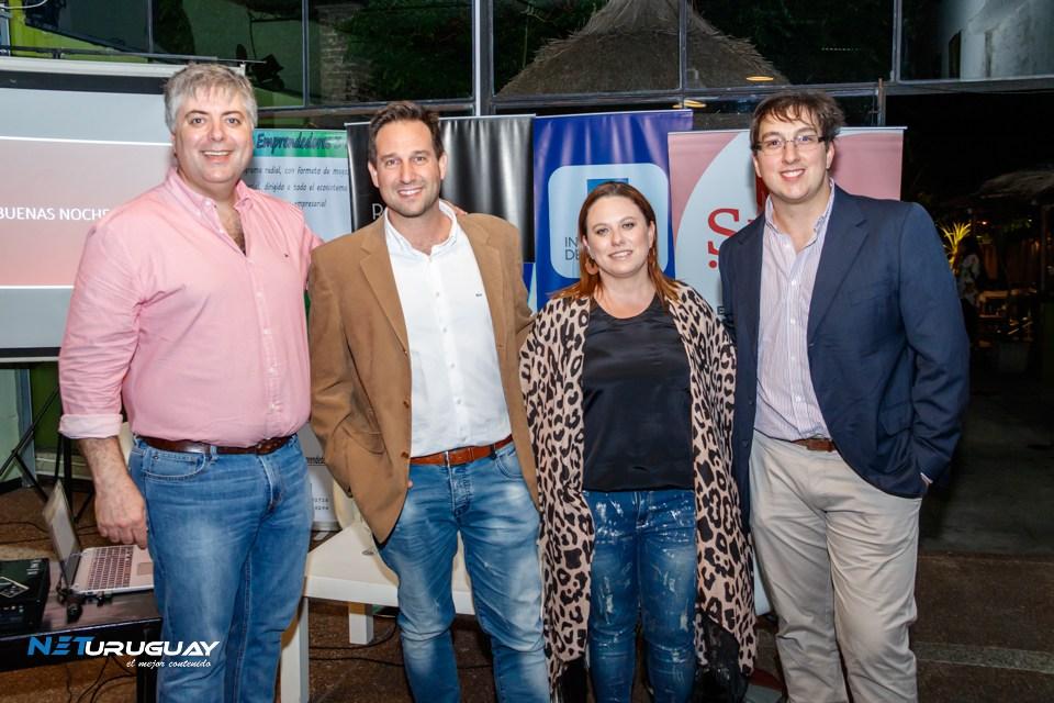 El Cr. Alexei Yaquimenko expuso en el After de emprendedores en Colonia