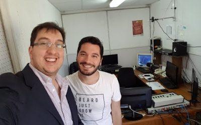 Entrevista al Cr. Alexei Yaquimenko en Fm Del Río 106.9 a cargo de Matías Vardacosta en La Matina