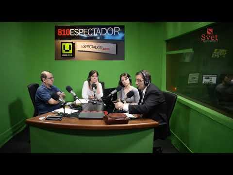 Entrevista al Cr. Alexei Yaquimenko en el programa Tarde de D10 de El Espectador