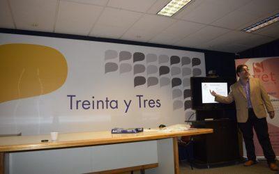 """Svet presentó un nuevo módulo de """"HERRAMIENTAS DE GESTIÓN PARA PYMES"""" en Treinta y Tres"""