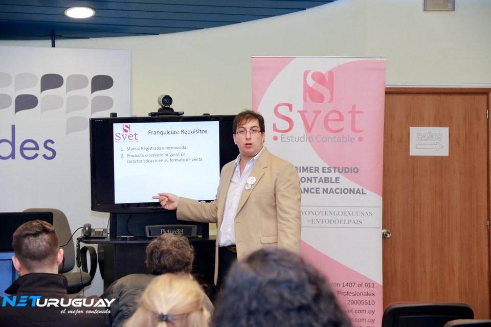 En la ciudad de Mercedes, el Estudio SVET presentó Herramientas de Gestión para Emprendedores