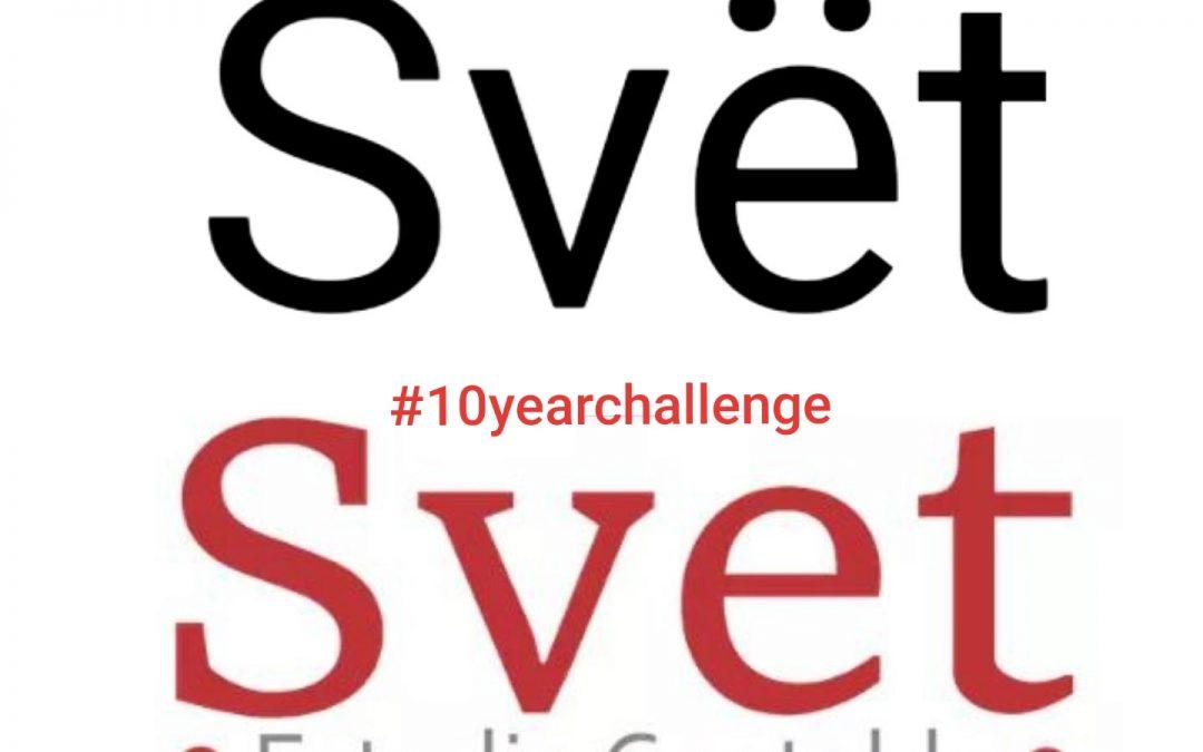 SVET  se suma al hashtag #10YearChallenge, siempre distinguidos por la transformación y la innovación de nuestros servicios
