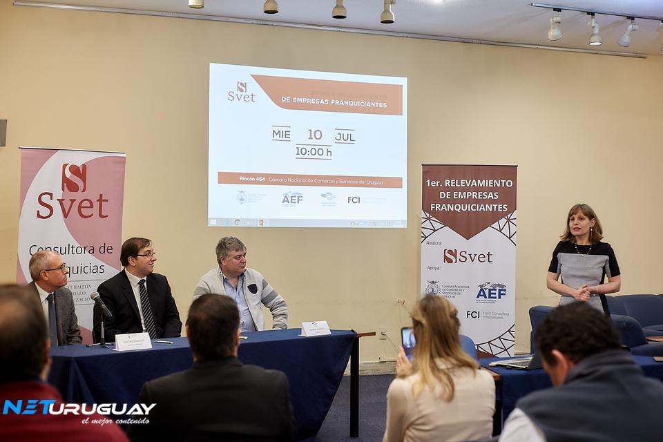 SVET lanzó el primer relevamiento de empresas franquiciantes en Uruguay
