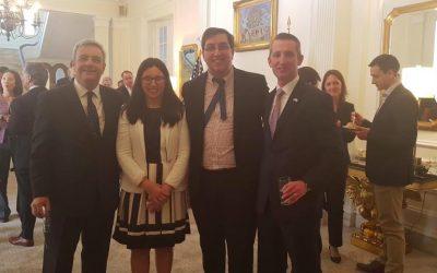 SVET presente en la bienvenida del nuevo Consejero Comercial de la Embajada de EEUU