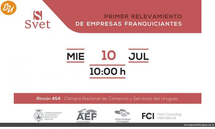 SVET lanza el primer relevamiento de empresas franquiciantes en Uruguay