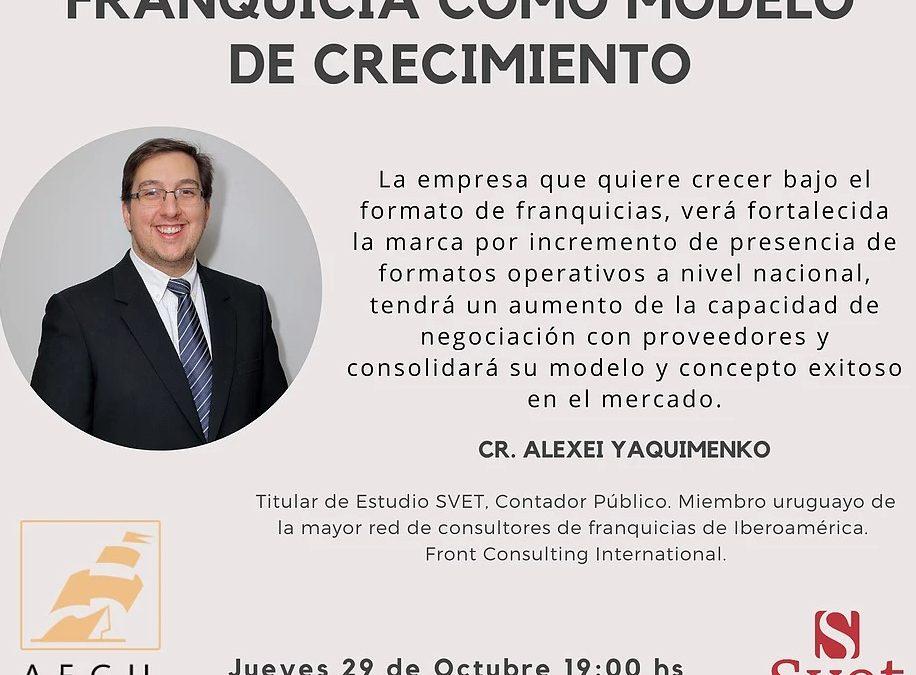 CHARLA FRANQUICIA COMO MODELO DE CRECIMIENTO