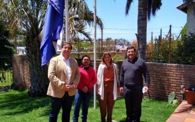 Importante encuentro entre directores de Estudio Svet y nuevo embajador de El Salvador